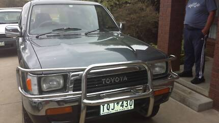 Toyota Hilux 4x4 surf 1989 Shepparton 3630 Shepparton City Preview