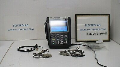 Tektronix Ths3024 200 Mhz 4 Ch5 Gsas 10 Kpts Handheld Digital Oscilloscope