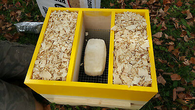 Bee Hive Feeder Insulator Honey Bee Winter Cluster Box 10 Frame