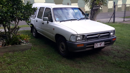 Toyota duel cab hilux