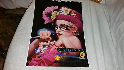 Madonna 1989 Culture Shock Calendar