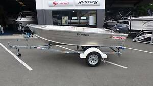 2014 Stacer 379 SeaSprite + Yamaha 25NMHL 25hp Two Stroke Boondall Brisbane North East Preview