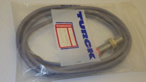 TURCK BI2-M12-AZ31X/F2 35-250VAC 100MA SN:2MM M-BARREL W/C PROXIMITY SWITCH NIB