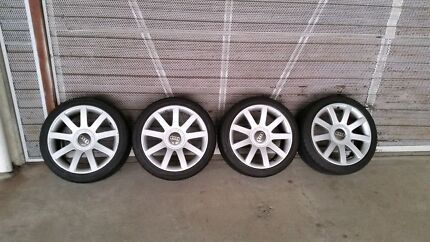AUDI RS4 B5 WHEELS AND TYRES Cremorne North Sydney Area Preview