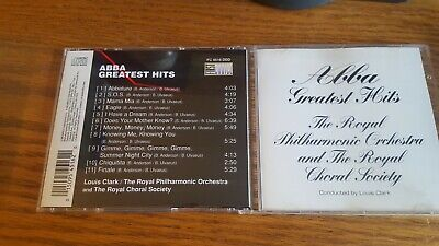 Abba Greatest Hits Louis Clark The Royal Philharmonic Orchestra CD