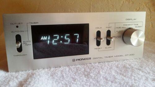 Pioneer DT-400 digital timer Vintage Japan Domestic Market