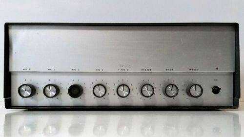 Collectible Vintage 4 Ohms to 75V Line PA Commercial Amp Webster Electric T40