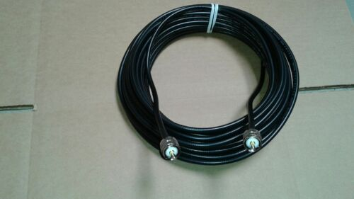 US MADE   LMR-240  PL259  Male UHF  to PL259  Male 50 ohm (CNT-240)   100 FT