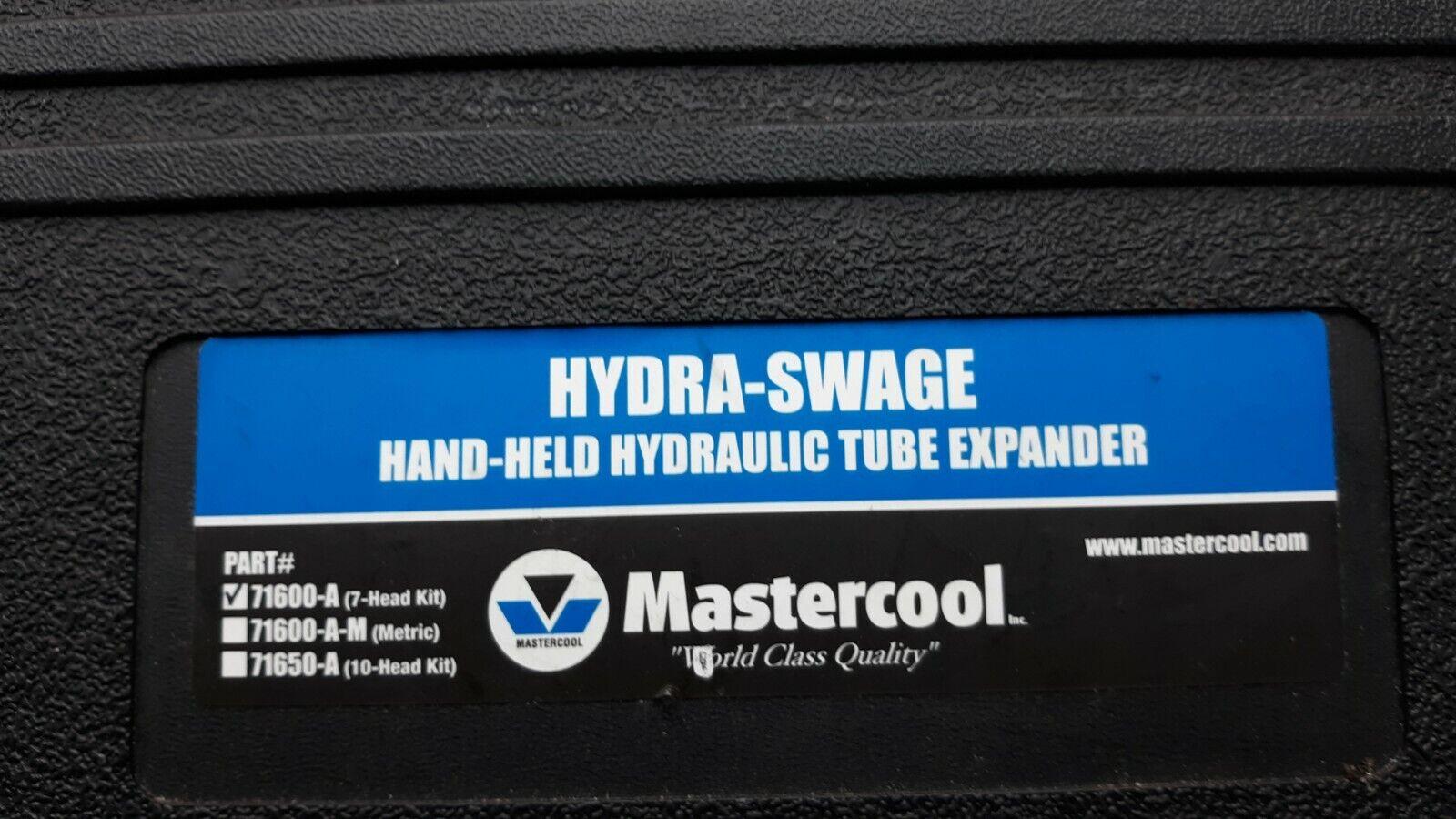 Hydra Swage Hand Held Hydraulic Tube Expander. 71600-A - $36.00