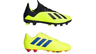 adidas Nemeziz 18.4 FXG / X 18.3 HG Kids Juniors Football Boots FREEPOST