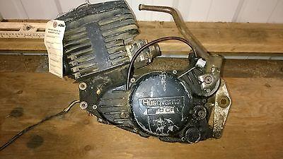 1980 Husqvarna 390CR Left Case Half 16 19 813-01