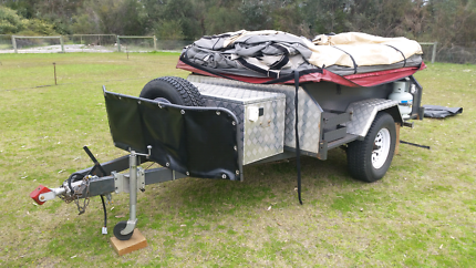 Camper trailer offroad. Meadow Springs Mandurah Area Preview