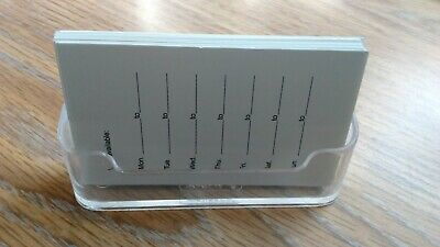 Acrylic Plastic Business Card Holder Clear Display Stand