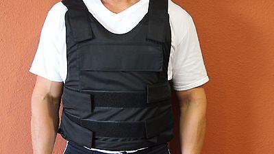 NIJ3A IIIA Body Armor Stab + Bulletproof Vest LEVEL NIJ 3A Size: XXXX-Large 4X