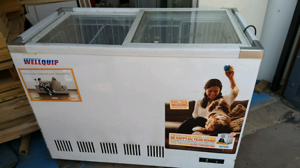 Wellquip Glass Top Chest Freezer For Sale