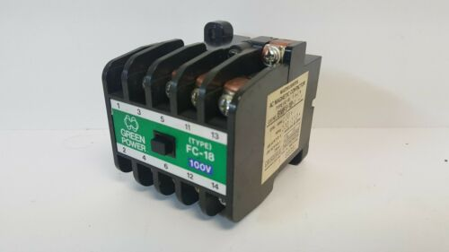 NEW OLD STOCK! MATSUSHITA AC MAGNETIC CONTACTOR BMF6-18-4-1