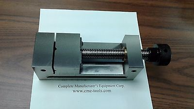 2-12x7 Screw Type Tool Makers Precision Vise W. Screw Vise 705-212 - New