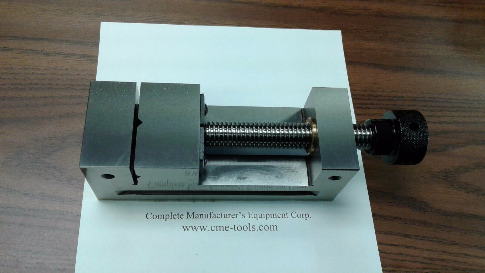 """4/"""" DOUBLE LOCK CNC PRECISION VISE 20/"""" overall length #8500-DL4-S NEW"""