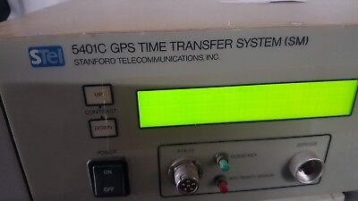 Stanford Telecommunications 5401c Gps Time Transfer System