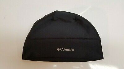 Columbia Men's Trail Summit Beanie Hat Omni-Heat Black S/M Thermal Reflective