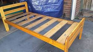 IKEA SINGLE SOLID BED FRAME. Vermont South Whitehorse Area Preview