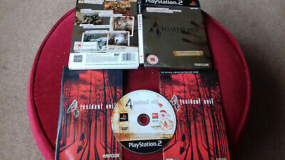 RESIDENT EVIL 4 PS2 PS3 GAME + MANUAL & MINI GUIDE IN METAL CASE. ALL IN VGC, used for sale  Shipping to Nigeria