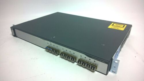 Cisco Catalyst Ws-c3750g-12s-e 12-prt Gigabit Switch V-14
