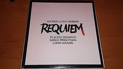 Andrew Lloyd Webber-Requiem LP Original Gatefold Vinyl Record Placido Domingo