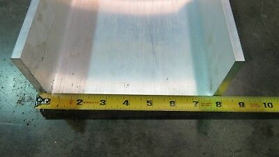 8 X 3.75 X .250 6061 Aluminum Association U Channel 12 Length Brand New