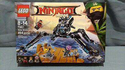 LEGO Ninjago 70611 - Water Strider - 494 Pcs - New. Sealed. Retired. MNR BOX DMG