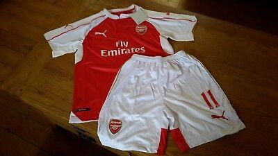Puma Arsenal football kits size UK 28 age 10-12