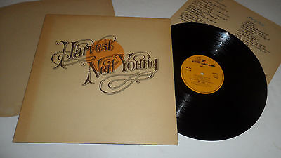NEIL YOUNG 'HARVEST 54005 REPRISE RECORDS 1972 UK 1ST ISSUE STEREO