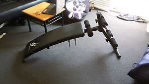 Sit up workout bench for abs and fitness weights gym use Meadowbank Ryde Area Preview