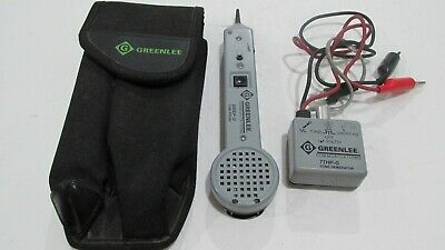 Greenlee 200ep-g Tone Probe 77hp-g Tone Generator