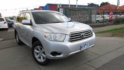 2007 Toyota Kluger  KX-R Wagon 7st d/away no more to pay Sunshine Brimbank Area Preview