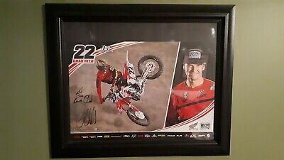 """Ryan Dungey Motocross Racer Body Issue Fridge Magnet Size 2.5/"""" x 3.5"""