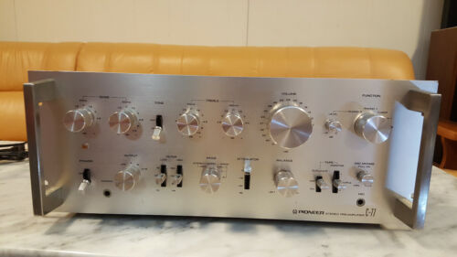 Vintage Pioneer C-77 Preamplifier in Good Condition and Works Great