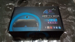 M8Q & M8 OTT TV BOX 4K Android Player
