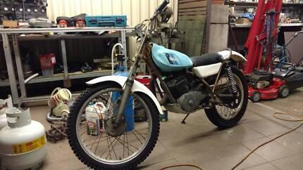 Yamaha Ty 250 Trials Motorbike