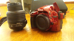Nikon D3100 + Bag+Sd+charger+ 18-55 mm VR DX lens. Double Bay Eastern Suburbs Preview