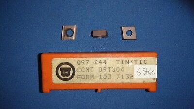Bild von Wendeschneidplatten Wohlhaupter NEU CCMT 09T304, CCMT 120408...