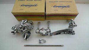 VINTAGE-NOS-70s-CAMPAGNOLO-NUOVO-RECORD-DERMABLEND-SHIFTER-Set-MINT-BOXED