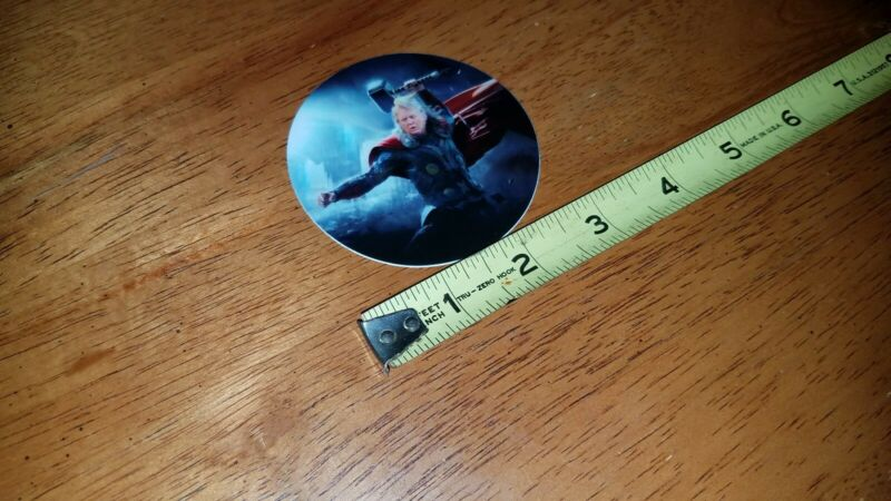 """Funny Trump Round 3"""" Sticker Thor with Hammer Marvel Avengers Trump 2020"""