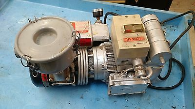 Busch Rc0021-s015-1101 Vacuum Pump 1 Hp 15 Cfm 15 Torr 29.3 In Hg