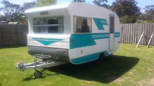 1973 15ft Baravan Caravan Boronia Knox Area Preview