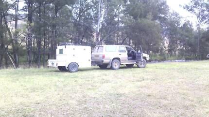 Custome Tradie/Camper Trailer Bulahdelah Great Lakes Area Preview