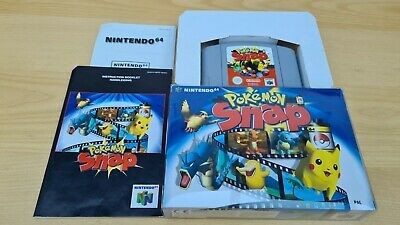 Pokemon Snap N64. Nintendo. Good condition.