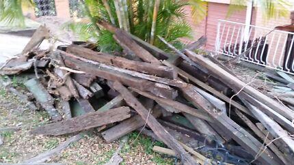 Free hardwood, garden bed timber or firewood Bracken Ridge Brisbane North East Preview