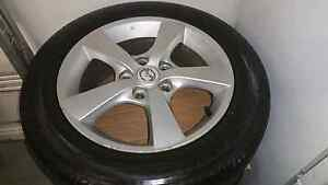 """MAZDA 3 MAXX SPORTS 16"""" GENUINE FACTORY ALLOY WHEELS AND TYRES. Upper Coomera Gold Coast North Preview"""