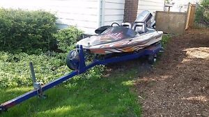 2 seater Speedboat with Trailer